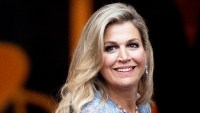 Queen Maxima Blue Gown September 11, 2019