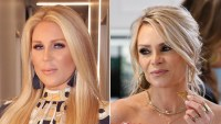The Real Housewives of Orange County Gretchen Rossi and Tamra Judge