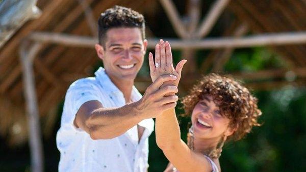 Sarah Hyland Wells Adams Engagement Ring