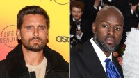Scott Disick Fights With Corey Gamble