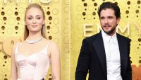 Sophie Turner and Kit Harington Emmys 2019