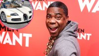 Tracy Morgan Paid Bartender to Watch Bugatti During Dinner