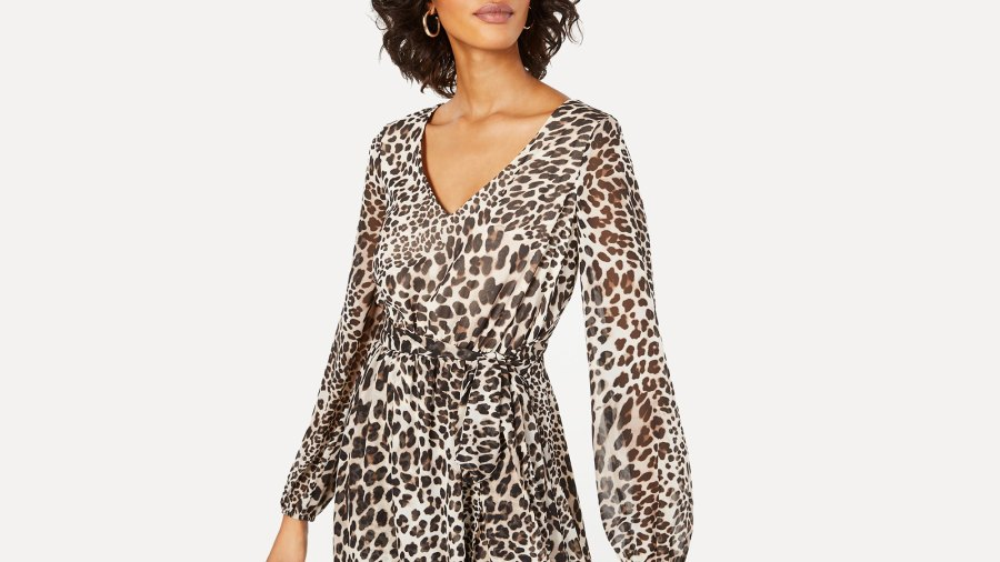 inc leopard dress