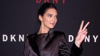 Kendall Jenner attends the DKNY 30th Birthday Party