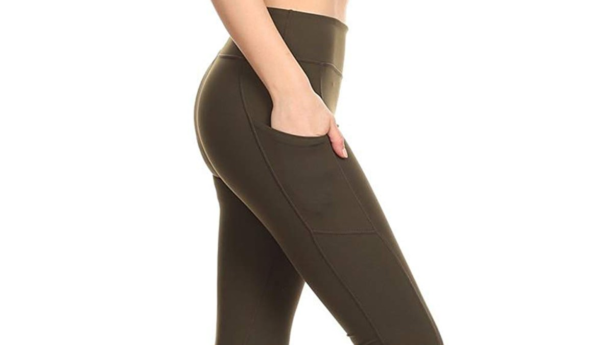 These Super Soft Leggings With 12,000 Reviews Are Going Viral on Amazon