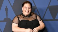 Chrissy Metz Governors Awards Black Dress