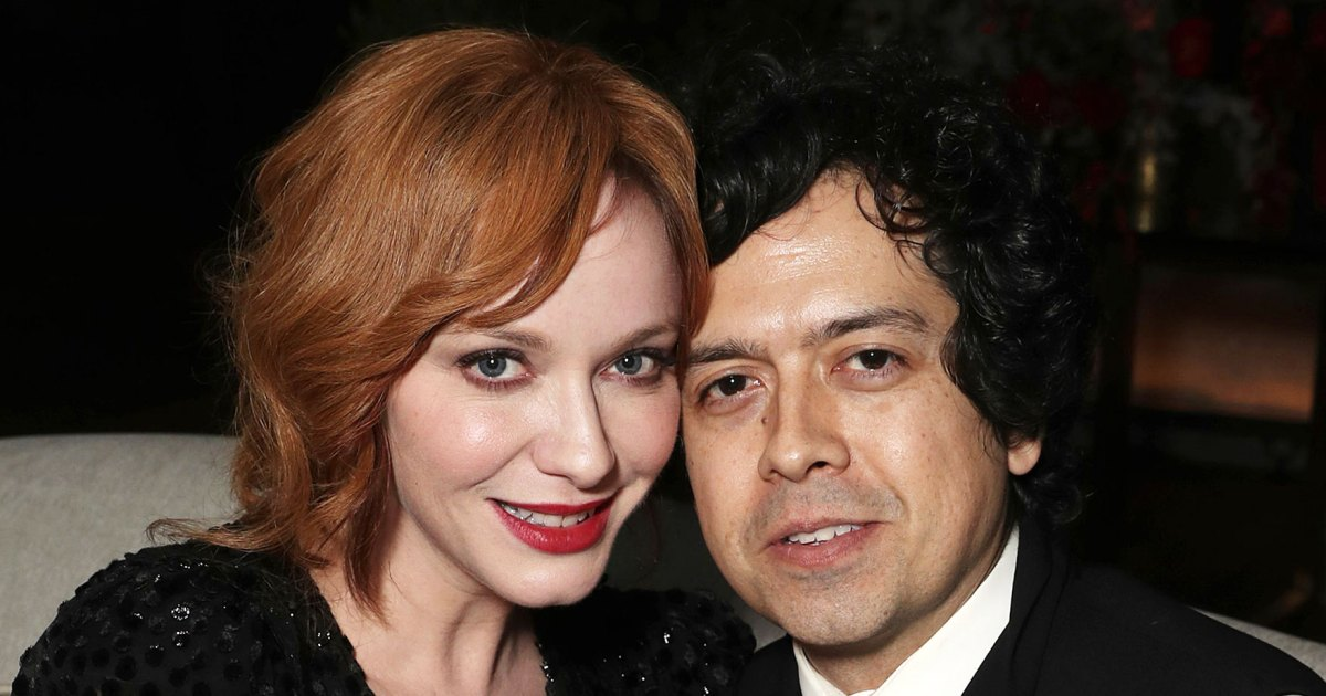 Christina Hendricks And Geoffrey Arend The Way They Were