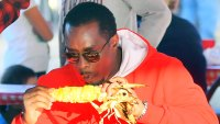 Sean Diddy Combs Eating Corn