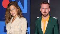 Eva Mendes and Ryan Gosling Hiding From Daughters