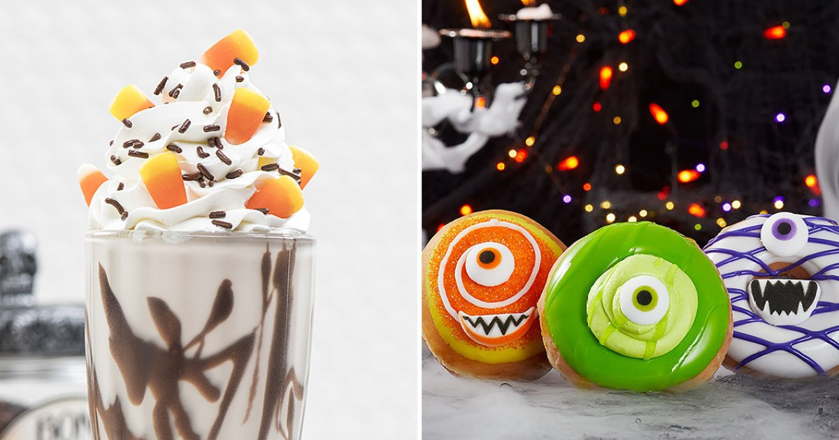 Halloween-Themed Menu Items That Celebrate Spooky Season: See Foods From Popeyes, Carvel and More