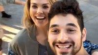 Hannah Brown and DWTS Partner Alan Bersten Let Loose at Disneyland Amid Dating Rumors
