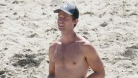 Shirtless Patrick Schwarzenegger Hunks in Trunks