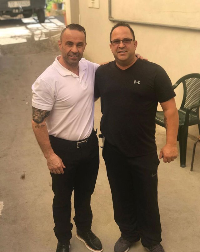 Joe Giudice Lost Up to 70 Lbs in Prison Instagram