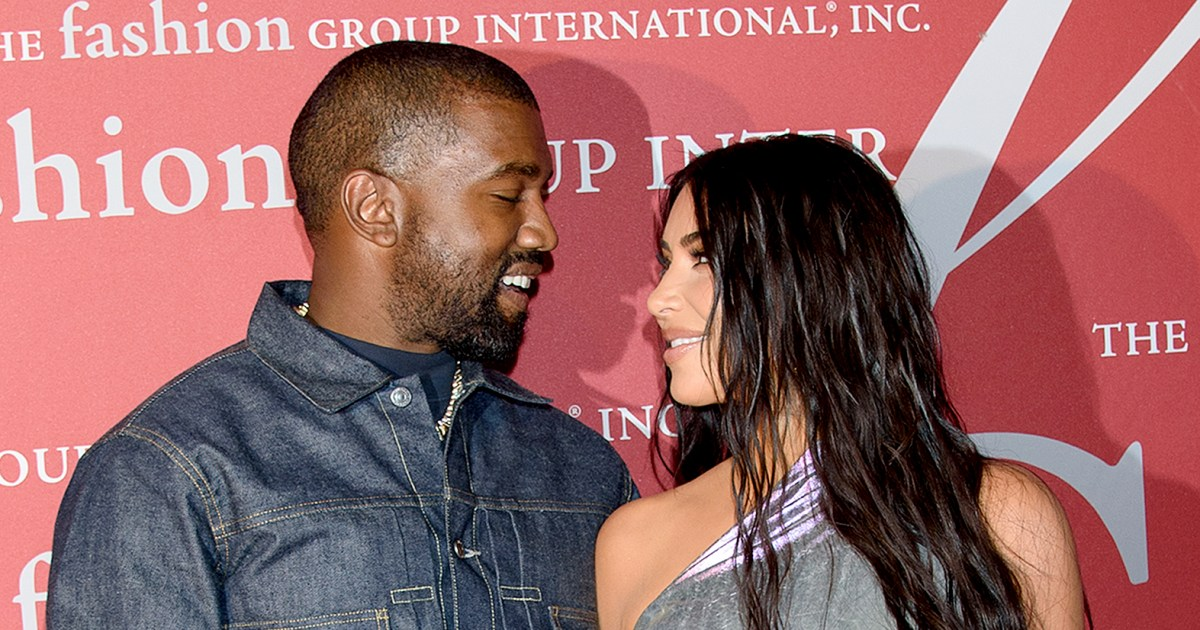Kanye West Has a Busy Night With Kim Kardashian as He Delays Album Again_1