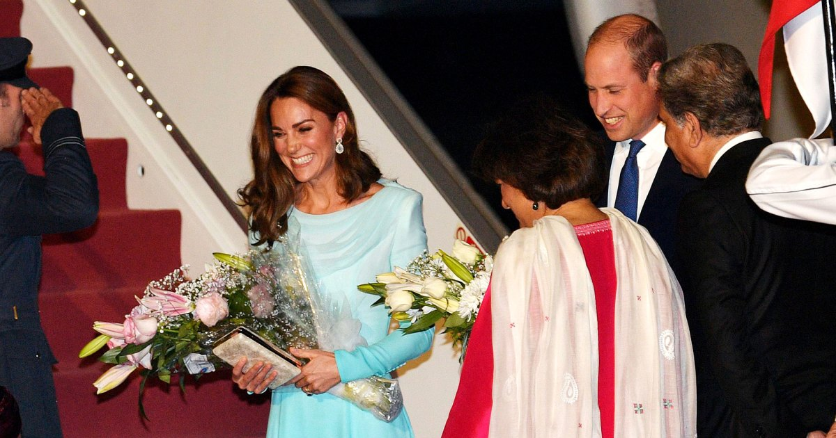Prince William and Duchess Kate Kick Off Their Royal Visit to Pakistan