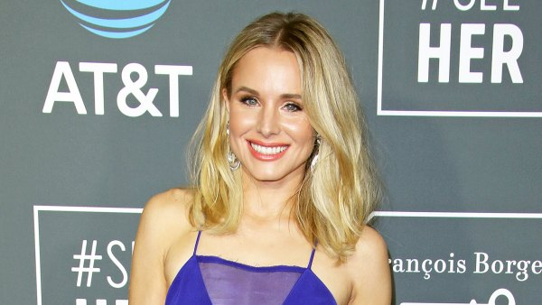 Kristen Bell at the Critics Choice Awards in a Blue Dress Healthy Breakfast Eating Carbs