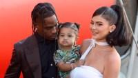 Kylie Jenner Can't Wait To Have More Babies After Travis Scott Split Kylie Jenner Stormi Webster Travis Scott Look Mom I Can Fly film premiere