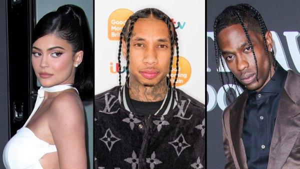 Kylie Jenner Visits Ex Tyga in Recording Studio After Travis Scott Split