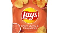 Lay's Launches Grilled Cheese & Tomato Soup-Flavored Potato Chips