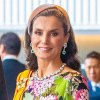 Queen Letizia Floral Gown October 22, 2019
