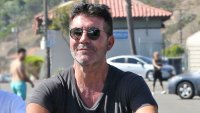 Simon Cowell-Celebrities on Bicycles! See Hollywood's Pedal Pushers Ride Through the Streets