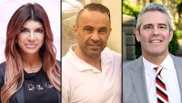 Teresa Giudice Joe Giudice Tell-All Interview With Andy Cohen