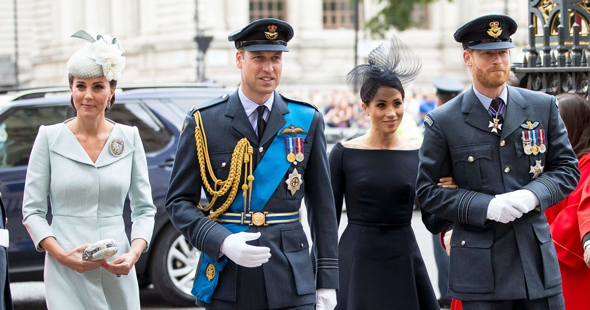 Reunited! Will, Kate, Harry and Meghan Team Up for a Good Cause