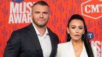 Jenni 'JWoww' Farley and Ex Zack Carpinello Reunite at Universal Studios in Florida