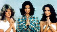 Farrah Fawcett, Kate Jackson, Jaclyn Smith, Kristen Stewart, Ella Balinska and Naomi Scott Charlies Charlie's Angels Through the Years