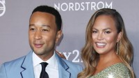 Chrissy Teigen Scares John Legend on 'The Ellen DeGeneres Show'