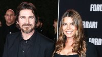 Christian Bale and Sibi Blazic at Ford v Ferrari Premiere Kids Have Never Seen His Movies