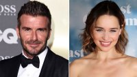 David Beckham 'Star Struck' After Meeting 'Mother of Dragons' Emilia Clarke