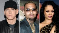Eminem Sides With Chris Brown Over Rihanna Assault in Leaked Song