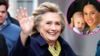 Hillary Clinton Visits Duchess Meghan Harry Archie at Home