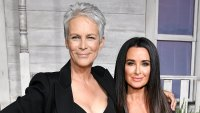 Jamie Lee Curtis Raves Over Working With Kyle Richards