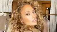 Jennifer Lopez Shows Off Fabulous Curls Instagram