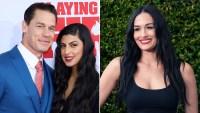 John Cena Shuts Down Comparisons of Ex Nikki Bella and Girlfriend Shay Shariatzadeh
