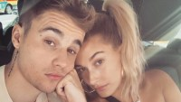 Justin-Bieber-and-Hailey-Baldwin-Snuggle-Up-on-L.A.-Date-Night