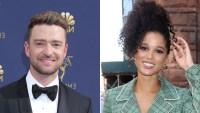 Justin Timberlake Holds Hands With 'Palmer' Costar Alisha Wainwright