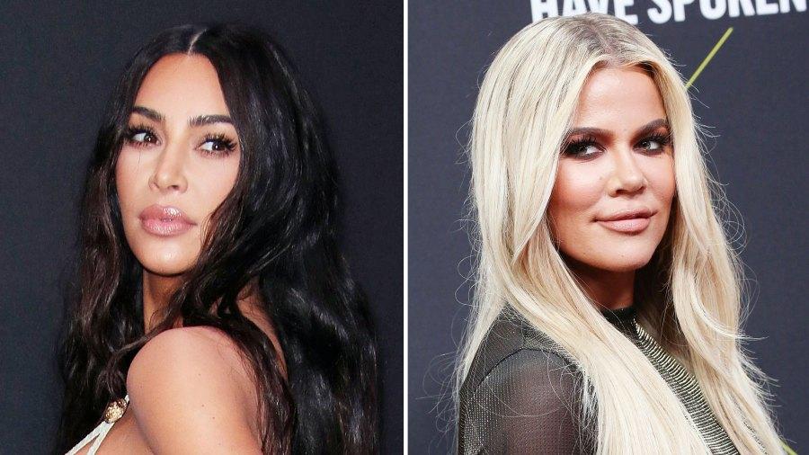 Kim Kardashian Throws a Bowl of Pasta at Khloe Kardashian During Food Fight