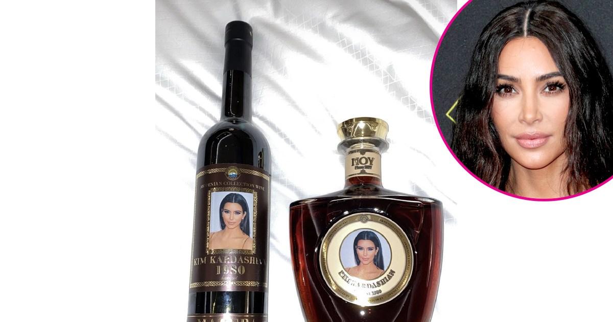 Personalized Liquor Bottles: Kris Jenner, Kim Kardashian and More Stars Who Are Loving the Trend