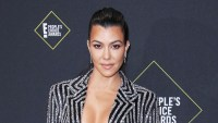 Kourtney Kardashian Wears a Bra Top 2019 People's Choice Awards