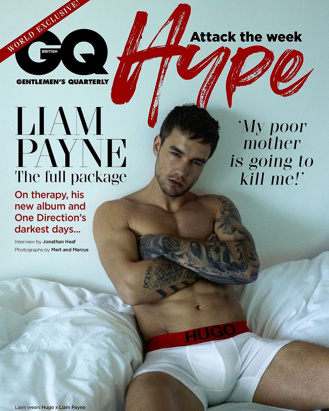 Image result for liam payne gq