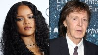 Rihanna Runs Into 'Legend' Paul McCartney on Flight 'I'm About to Put You on Blast Mr. McCartney'