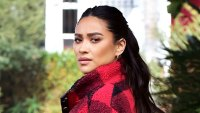 Shay Mitchell Wears American Eagle November 14, 2019