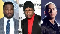 50 Cent Threatens to Kick Punk Nick Cannon's Ass Over Eminem Feud