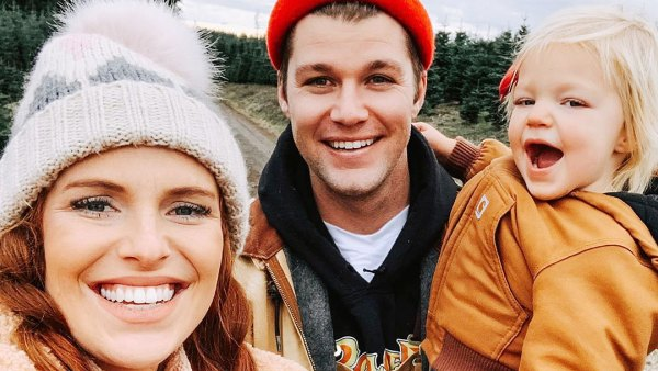 Audrey Roloff and Jeremy Roloff Picking Out Their Christmas Tree with Daughter Ember