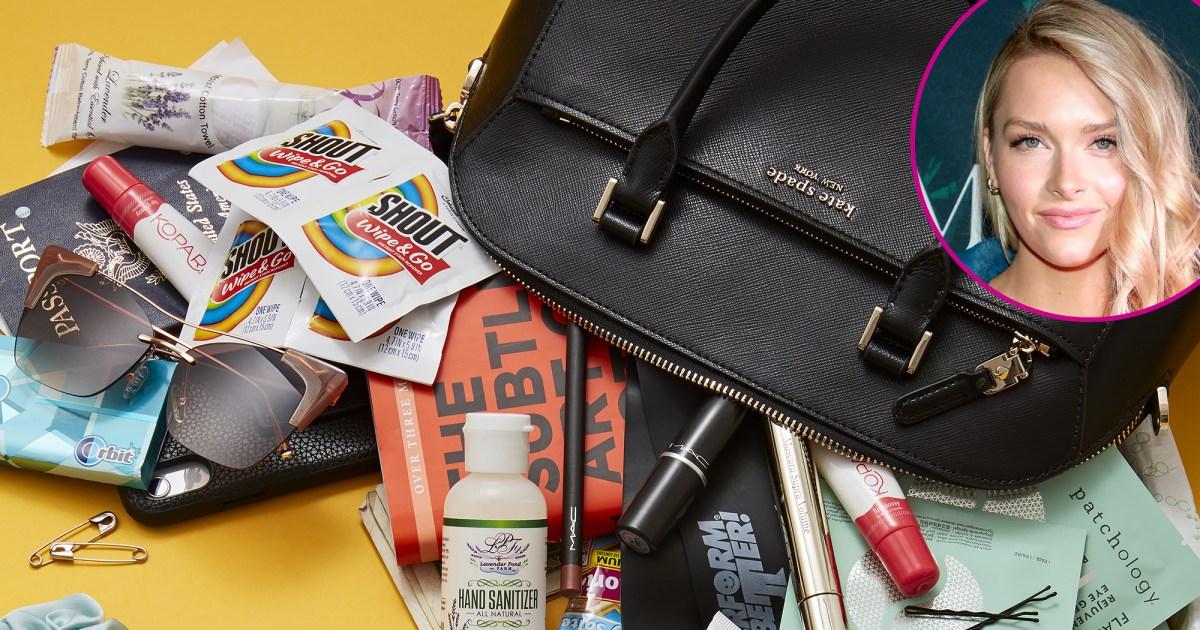 Camille Kostek bag p - كميل كوستيك: ماذا يوجد في حقيبتي؟