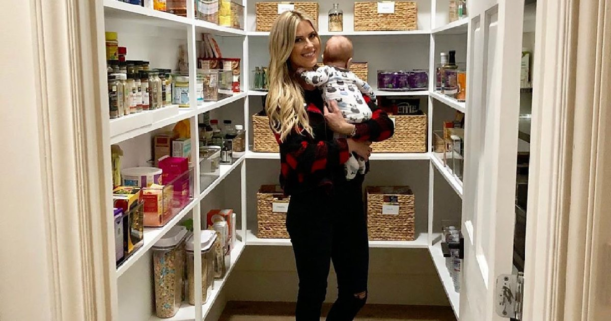 Christina Anstead Shows Off Her Super-Organized Pantry and Closet: See Inside the 'Happy' Spaces