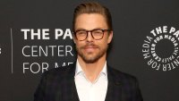 Derek Hough Is Always Dancing During the Holidays
